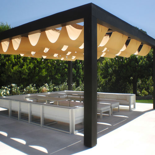 Superior Roman Shades Outdoor Shading Solutions