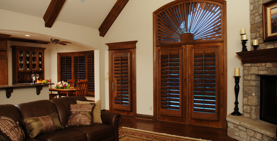 Superior Roman Shades ~ Interior Wood Shutters